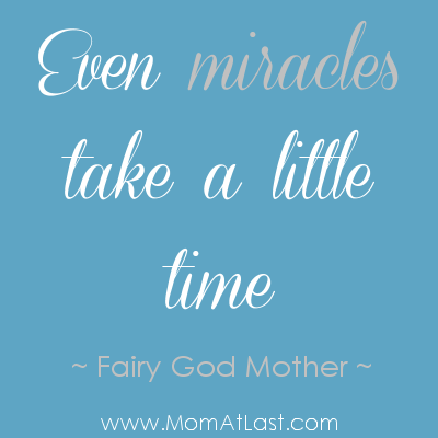 Infertility Quotes Extraordinary Miracles Take Time  Infertility Quote  Mom At Last