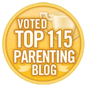Voted Top Parenting Blog